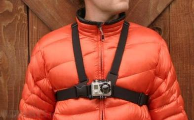 how to wear gopro chesty